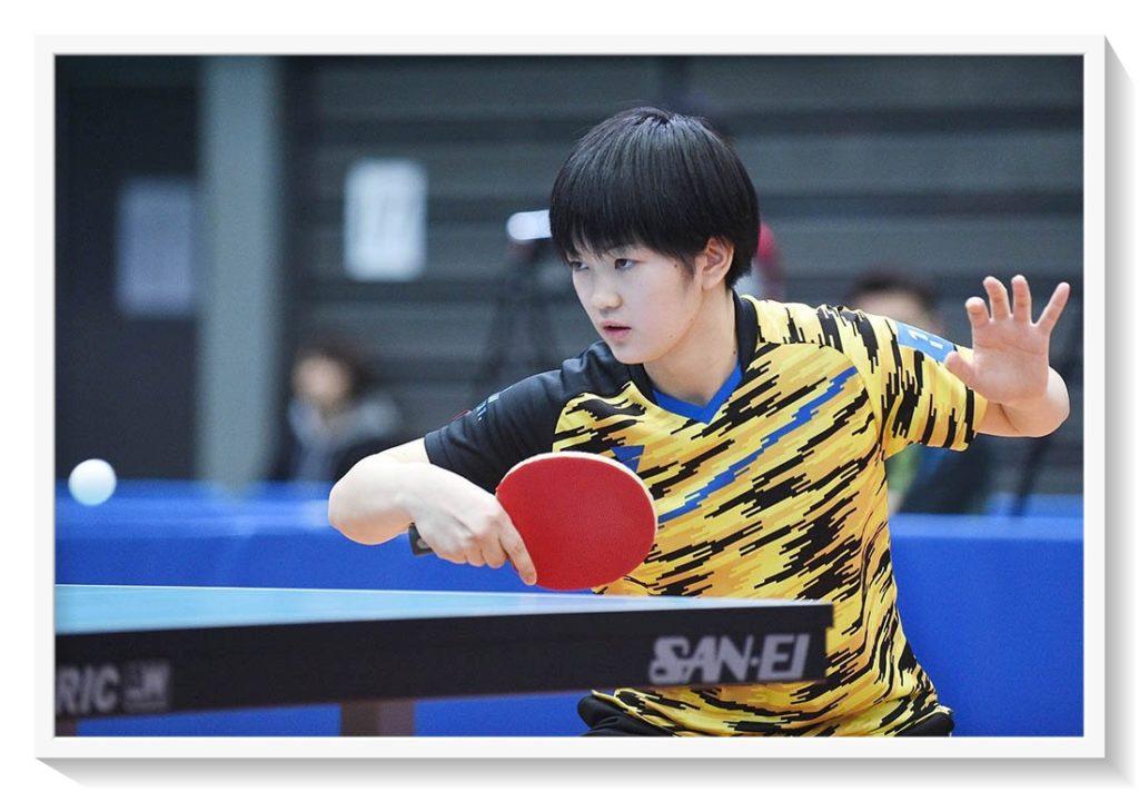 木原美悠は中国人のコーチがついている!父親や姉、兄も元選手で卓球指導者