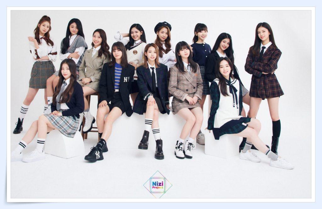 虹プロジェクトのデビューメンバー目撃情報は10人!合格者が確定?